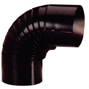 Codo estufa vitrificado diámetro 10 cm a 90º.