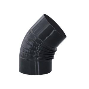 Codo estufa vitrificado diámetro 10 cm a 45º.