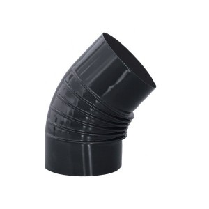 Codo estufa vitrificado diámetro 15 cm a 45º.