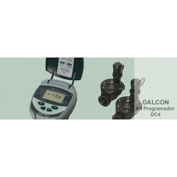 Programador de riego galcon kit dc4 - Programadores de riego a pilas ...