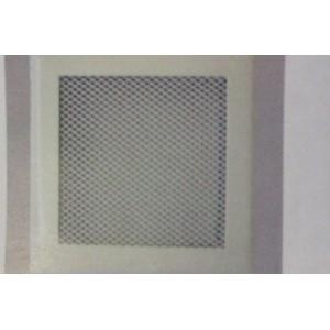 Rejilla ventilación con premarco de 15x15 blanca.