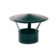 Deflector estufa negro vitrificado para tubo 11 cm diámetro.