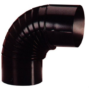 Codo estufa vitrificado diámetro 30 cm a 90º.