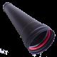 Tubo estufa pellet de 1 metro salida 80mm.