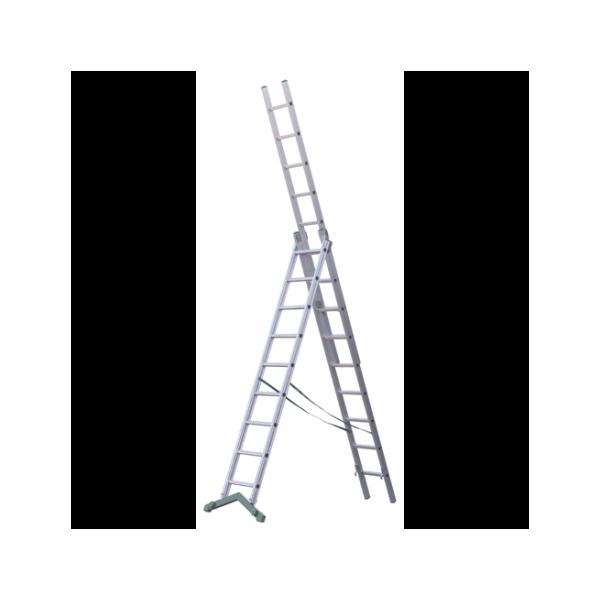 Escalera multiusos 3 tramos 7 7 7 p for Escalera multiusos