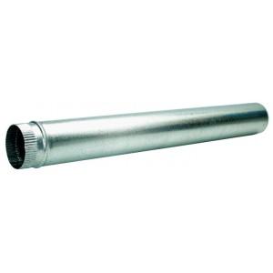Tubo estufa galvanizado diámetro 11 cm.