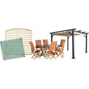 Mobiliario para la decoración de su jardín