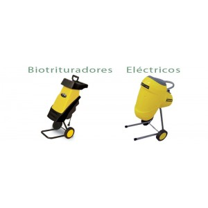 Biotrituradores electricos Garland.