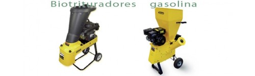 Biotrituradores a gasolina Garland.