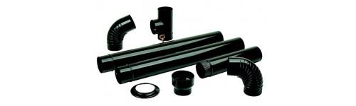 Tubos vitrificados para estufas de le a ferreteria ferrival for Estufas de lena tubos