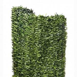 Seto y hiedra artificial color verde.
