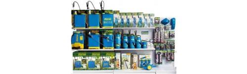 Sulfatadoras de mochila y pulverizadores de presión Matabi.
