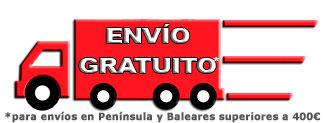 Envío gratuito a Península y Baleares